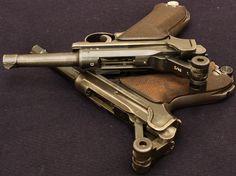 Pair of #Luger P08 #pistols I believe