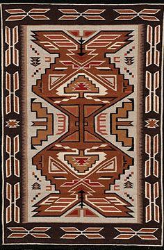 Navajo Rug, Teec Nos Pos Weaving, Wool Rugs, native American Rug, Navajo Weaving, Southwestern Rug, Handwoven Navajo Textiles, Woven Rug, #676