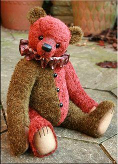 Mayhem  An original teddy bear created by Paula Carter  www.allbear.co.uk