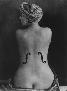 Man Ray, Violon d'Ingres, 1924 (1990), Courtesy Galerie Johannes Faber © MAN RAY TRUST/Bildrecht, Wien, 2017/18