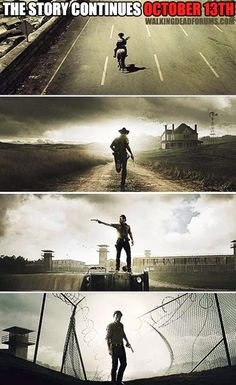 The Walking Dead Season 4 - in love with how this represents how things have changed!
