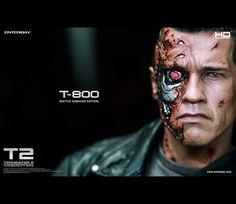 #Terminator2 #Terminator #Battle #DamagedEdition #Masterpiece #JudgementDay #ArnoldSchwarzenegger #Figurines #movable #T-800 #TerminatorFans #fans #Enterbay #EnterbayUSA #movie #muscular #body #LEDLight #M79Grenade #launcher #accessories #mightyweapons