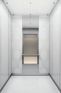 Lift lobby at china square central singapore by dp design Elevator cabin design