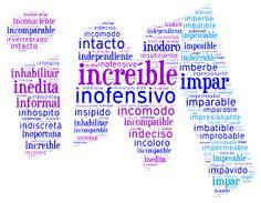 Palabras que empiezan por IN- y IM-   Más materiales en www.profedeele.es y www.fb.com/PracticamosEspanol