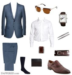 Style Scenario: Mid Summer, Sharply Suited | Dappered.com