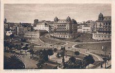 1920 - Parque do Anhangabaú - Palacetes Prates - Delcampe