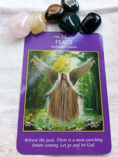 21 May –The Universe is bringing you a beautiful surprise. Take time to release what no longer serves you. Whether thoughts, worries, or even a toxic relationship, it is time to let go so you can receive the gifts coming to you. (Archangel Power Tarot Cards, D. Virtue & R. Valentine) #dailycard #dailytarot #dailyoracle #dailymessages #dailyoraclereading #oraclecards #tarot #tarotcommunity #spirituality #metaphysical #divination #angels #archangels #archangelpowertarot