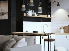 Apartment 44 m2 on Behance