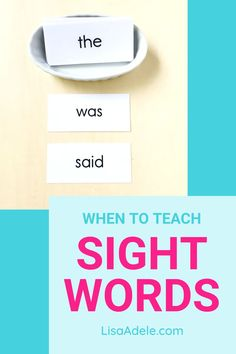 Not sure how and when to teach SIGHT WORDS? Wondering about teaching sight words vs phonics? Learn about teaching reading to preschool or kindergarten age kids at home. Homeschool Preschool Reading | Learning to Read Kindergarten | Learning to Read 3 Year Old | Teaching Reading Preschool Sight Words | How to Teach Kids to Read at Home Homeschooling | Kindergarten Reading Activities at Home | Learn to Read Homeschool Phonics Best Way | Kindergarten Readiness | Sight Words List Kindergarten Learn To Read Kindergarten, Learning To Read Games, Kindergarten Sight Words List, Preschool Sight Words, Kindergarten Reading Activities, Teaching Sight Words, Kindergarten Readiness, Homeschool Kindergarten, Teaching Reading