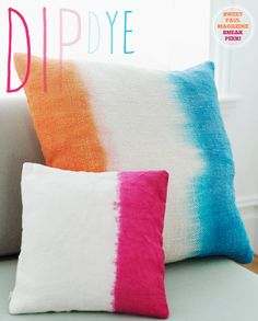 Sweet Paul Magazine: Dip Dye Ideas – Bright.Bazaar