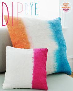 Sweet Paul Magazine: Dip Dye Ideas