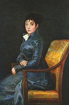 Francisco José de Goya y Lucientes (Spanish painter, 1746–1828) Dona Teresa Sureda. c 1805