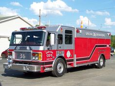 Sandy Twp Fire Company, Station 36 Special Unit 36 2003 American LaFrance 1000/500/20foam