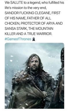 Looking for for images for got quotes?Browse around this site for very best Game of Thrones memes. These positive memes will make you happy. Game Of Thrones Books, Game Of Thrones Facts, Got Game Of Thrones, Game Of Thrones Quotes, Game Of Thrones Funny, Hound Game Of Thrones, Game Of Thrones Characters, Sansa Stark, Eddard Stark