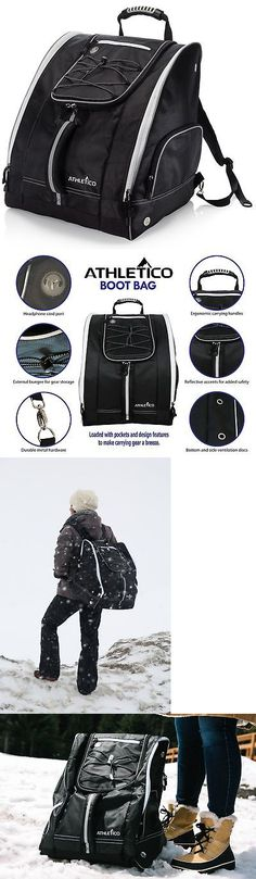 1c97b30ac202 Bags and Backpacks 21229  Athletico Ski Boot Bag – Skiing And Snowboarding  Travel Luggage – Stores Gear... -  BUY IT NOW ONLY   59.75 on  eBay   backpacks ...