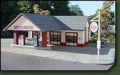 HO Gas Station - Branchline