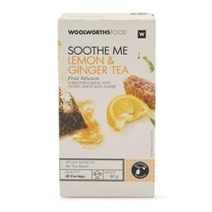 Fruit Infusion Lemon & Ginger Tea 40g Ginger Root Tea, Breakfast Recipes, Lemon, The Incredibles, Fruit, Day, Food, Recipes For Breakfast, Essen