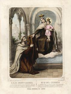 Our Lady of Mount Carmel with Saint Simon Stock