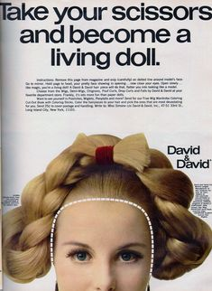 1960s Hair, Seventeen Magazine, Model Face, Living Dolls, Costume, Pretty, Fancy Dress, Costumes, 60s Hair