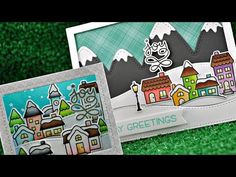(15) Intro to Winter Village + 2 cards from start to finish - YouTube