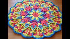 mandalas tejidas a crochet diseños e ideas para tejer facilmente en ganchillo. suscribete