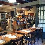 Oliviera. 8 bis rue du Collet, 06300 Nice, France.   A small but good place to eat in Nice. Uses local ingredients and different types of oliveoils