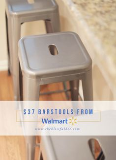 5dad899cec9c  37 Barstools from Walmart!! They even sell other colors online for just   39!