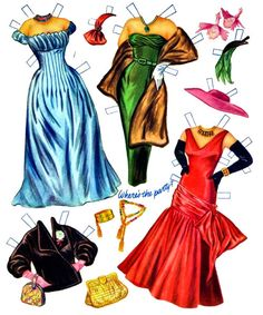 The Paper Dolls of Laura