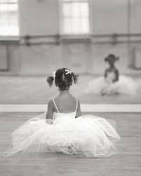cute ballerina with an adorable tutu