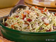 Salads on Pinterest | Cole Slaw, Coleslaw and Blue Cheese Coleslaw