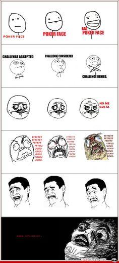 Evolution rage comic(: