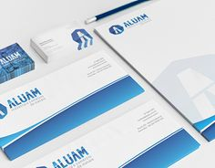"""Check out new work on my @Behance portfolio: """"Aluam Metais - Identidade Visual"""" http://on.be.net/1Lk3OmI"""