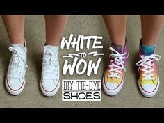 Tie Dye Your Summer | White to Wow