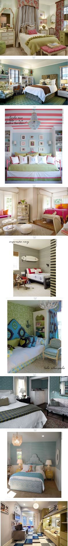 Lindas Ideas para las Habitaciones de los adolescentes