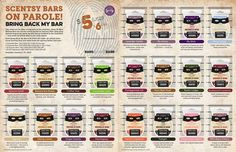 """Here are some Scentsy favourites brought back for the """"Bring Back my Bar"""" campaign and available for the month of January ONLY! Order going in this weekend... need any?? Which ones are your favourites from the past? Banana Nut Bread? Pima Cotton? Wild Black Cherry? I'm curious to know!  See them all here -> www.jenniferfry.scentsy.ca/Buy/Category/2084"""