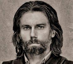 Cullen Bohannon (Anson Mount in Hell on Wheels) B&W photo portrait. Adνеrtisеmеnt