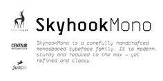 Skyhook Mono - Webfont & Desktop font « MyFonts