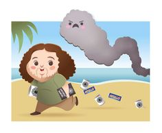 Lost / Hurley and the Smoke Monster Best Television Series, Tv Series, Geeks, Serie Lost, Lost Tv Show, Pop Culture References, My Life Style, How I Met Your Mother, Apollo