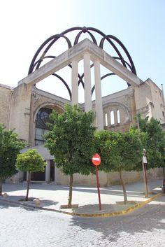 Vista general de la cabecera de la iglesia - Intervención en ruinas de San Francisco - Baeza - Jaén