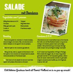 Leuke Salade met Abondance van Kaashuis Tromp