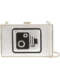 Shop Anya Hindmarch 'Speed Camera Imperial' clutch  in Boutique Mantovani from the world's best independent boutiques at farfetch.com. Shop 300 boutiques at one address.