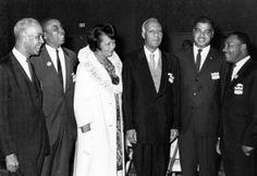 Roy Wilkins(Omega Psi Phi Fraternity), Floyd McKissick(Alpha Phi Alpha Fraternity), Dorothy Height(Delta Sigma Theta Sorority), A.Philip Randolph (Phi Beta Sigma Fraternity), Whitney Young (Alpha Phi Alpha Fraternity), and Dr. Martin Luther King (Alpha Phi Alpha Fraternity)    This is a grand legacy.