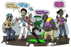 L4D2_Let 4 Infected by aulauly7.deviantart.com on @deviantART
