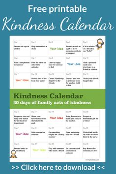 Teaching kids about kindness and compassion is one of the most wonderful things to do for them. Lately, I've discovered a lot of ideas of lovely acts of kindness for kids and I knew that Indoor Activities For Kids, Learning Activities, Children Activities, Family Activities, Kids And Parenting, Parenting Hacks, Parenting Classes, Teaching Kids, Kids Learning