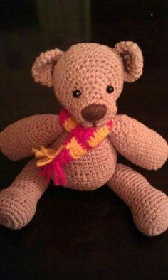 Mi amigurumi de Teddy Bear