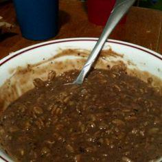 Chocolate oatmeal