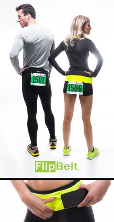 hold phone + keys during your next 5k with a FlipBelt