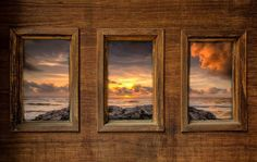 windowscape ~ Mexico by Todd Wall on Road Pictures, Wood Interior Design, Beach Rocks, Sea And Ocean, Photoshop Photography, Mother Nature, Travel Photos, Photo Wall, Architecture