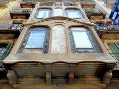Casa Ramon Viñolas . Architect: Ramon Viñolas i Llosas. Barcelona - Provença
