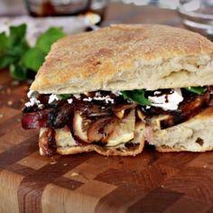 Fig Prosciutto Sandwich